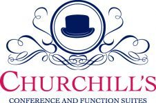 Churchill's Events Logo